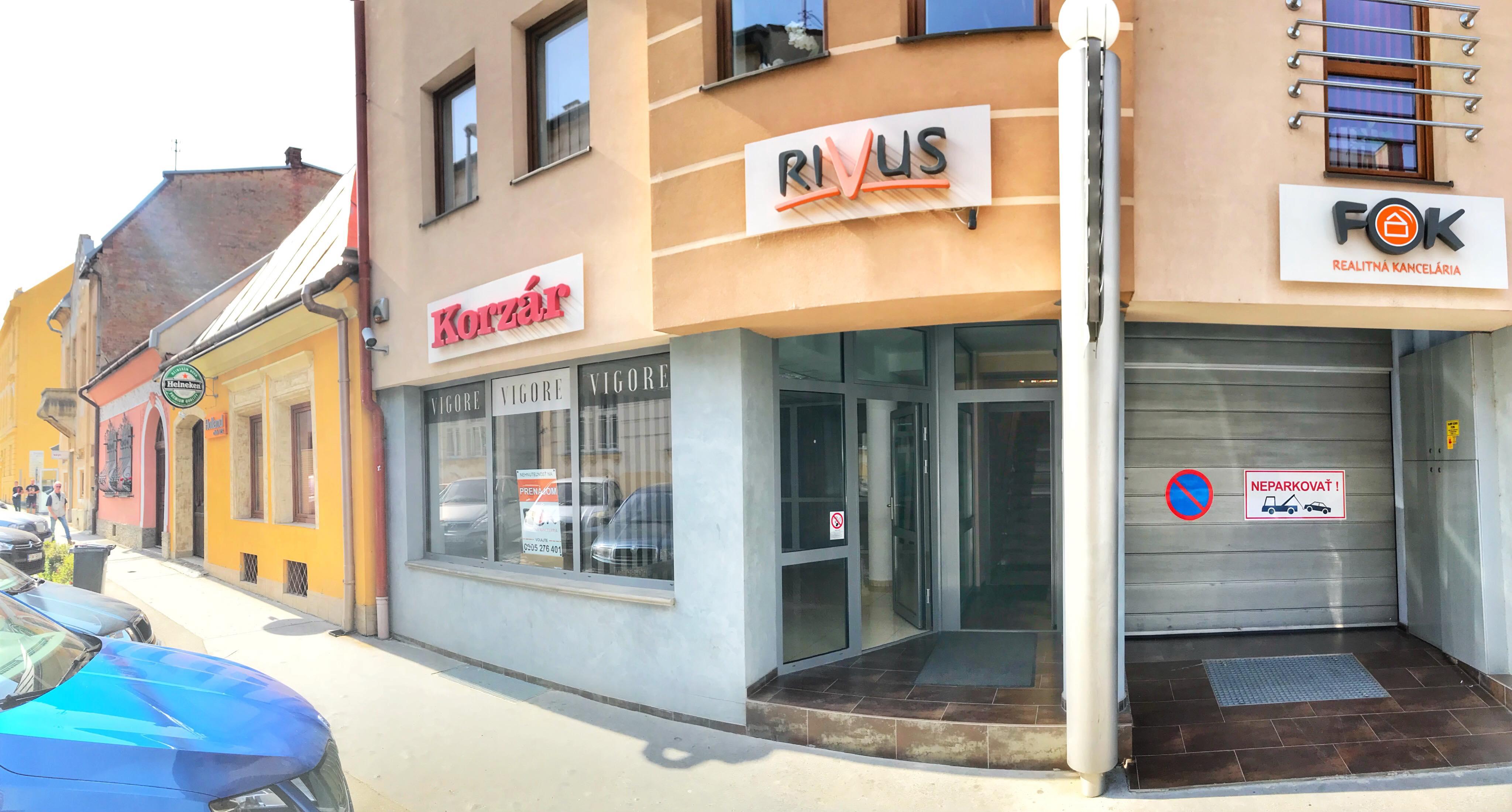 Obchodné priestory v Prešove