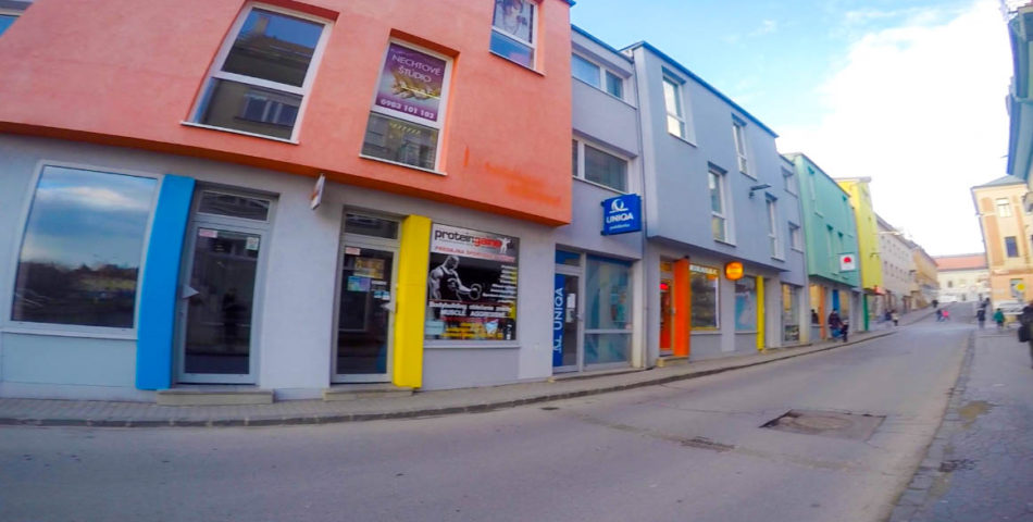 Obchodné priestory s výkladom v centre Prešova