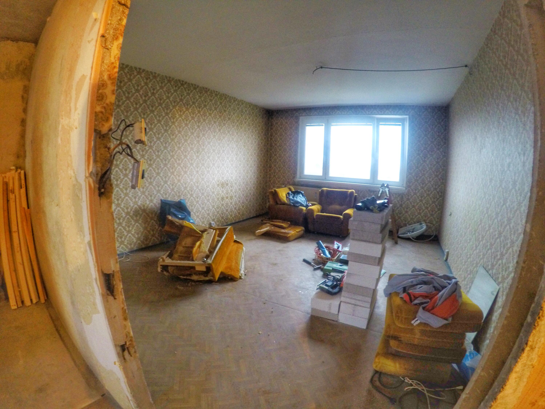 Kompletná rekonštrukcia 1-izbového bytu