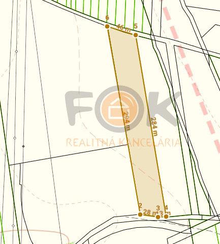 pozemok v priemyselnom parku Haniská